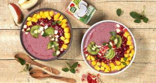 Açaï bowl au lait de coco et fruits exotiques