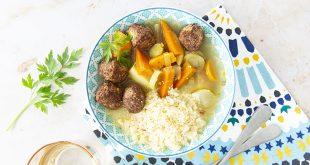 Couscous vegan aux légumes d'hiver