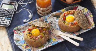 Les petits pains surprise aux œufs