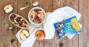 Porridge d'hiver aux fruits secs