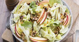 Salade fraîcheur à la Iceberg Florette® Agrilogique pommes & raisins secs