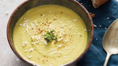 Photo de Velouté d'endives, noix de coco et curry