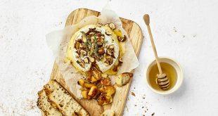 Camembert Les 300&Bio rôti, aux pommes, poires et fruits secs
