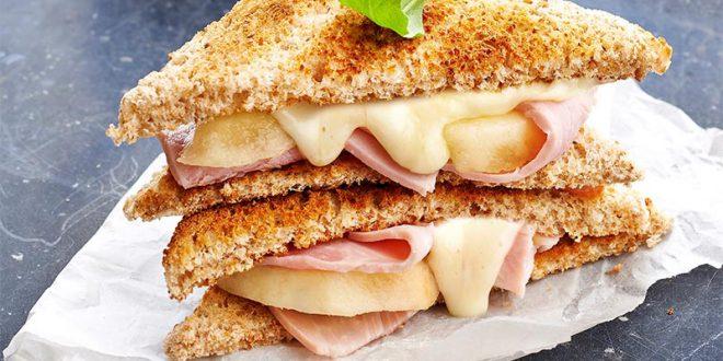 Club sandwich à la Raclette de Savoie