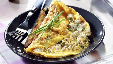 Photo de Omelette aux coques