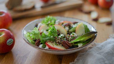 Photo de Salade croquante de quinoa, pomme Antarès®, feta et noix de pécan