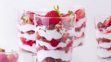 Photo de Verrines de fraises