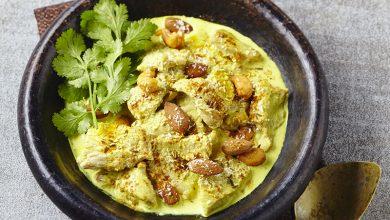 Photo de Émincés de veau curry-coco