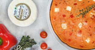 Omelette rouge au Tentation de Saint-Félicien