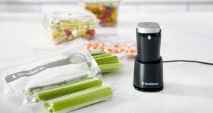 FoodSaver® présente sa nouveauté, la machine sous vide sans fil et portative