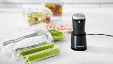 Photo de FoodSaver® présente sa nouveauté, la machine sous vide sans fil et portative