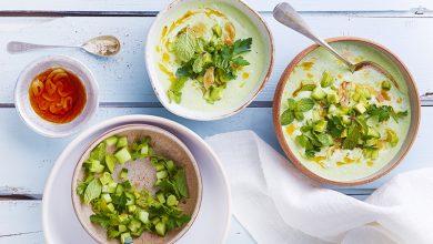 Photo de Green gaspacho au yaourt