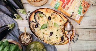 Lasagnes aux aubergines et « Trio Gourmand » Entremont