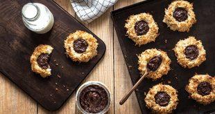 Nids de noix de coco au cœur pâte à tartiner croustillante Gavottes®