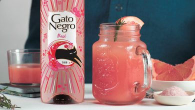 Photo de Sangria rosé GatoNegro
