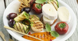 Légumes d'été grillés et En Cas de Caprice