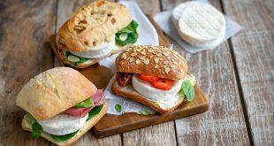 Mini-sandwichs au Cabécou du Périgord