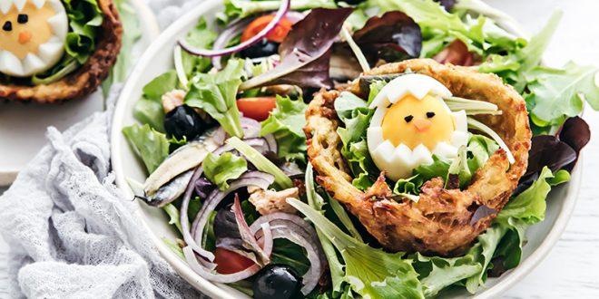 Salade de jeunes pousses Florette® façon niçoise