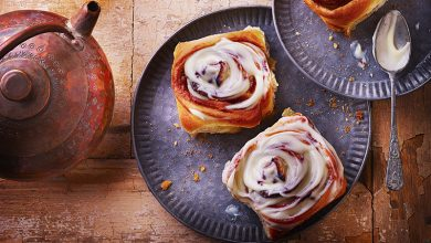 Photo de Cinnamon rolls aux pommes