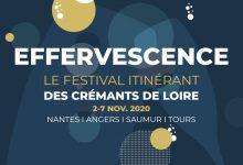 """Photo de 3ème Édition de """"Effervescence"""" le Festival itinérant des Crémants de Loire du 2 au 7 novembre 2020"""