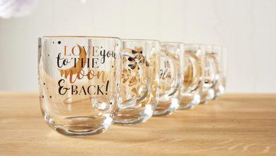 "Photo de ""EMOZIONE"" de LEONARDO – Les tasses en verre décorées"