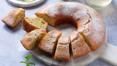 Photo de Gâteau au citron et graines de pavot
