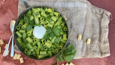Photo de Maccheroni Pesto di Mozzarella