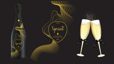 """Photo de Cuvée """"Sprint"""" de Champagne CASTELNAU, un nouveau Collector pour les fêtes de fin d'année"""