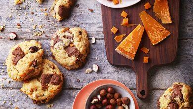 Photo de Cookies noisettes praliné mimolette