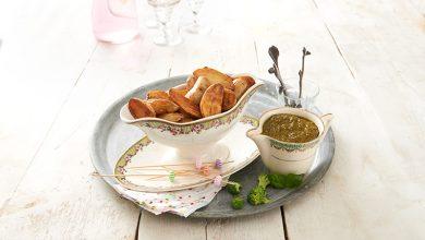 Photo de Potatoes de Ratte du Touquet et pesto de brocoli