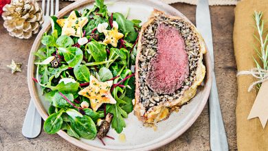 Photo de Bœuf en croûte et salade de mâche, roquette et betterave Florette®
