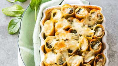 Photo de Cannelloni au bœuf, épinards et Reblochon AOP
