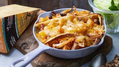Photo de Caquelons de pommes de terre aux lardons et Vacherin® Fribourgeois AOP fondant