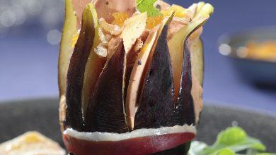 Photo de Foie Gras en écrin de figue-fleur