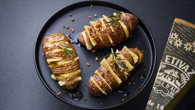 Photo de Mille-feuilles de pommes de terre à l'Etivaz AOP et à l'huile de noisette