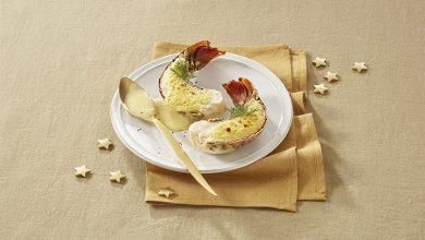 Photo de Queues de langoustes au sabayon de champagne