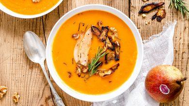Photo de Soupe poires Sweet Sensation®, butternut, romarin & noix