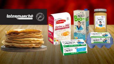 Photo de Pour la chandeleur, Intermarché met à l'honneur 5 ingrédients pour une recette de crêpes réussie !