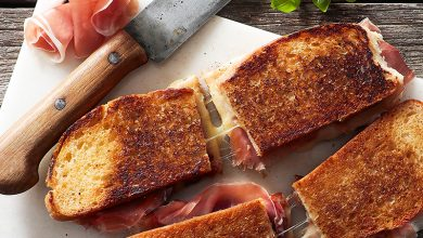 Photo de « Grilled Chesse » au Jambon de Parme
