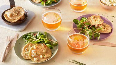 Photo de Pancakes au chou-fleur et au cidre