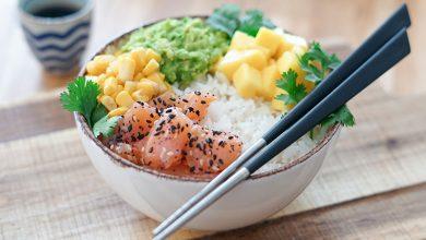 Photo de Poke bowl au maïs