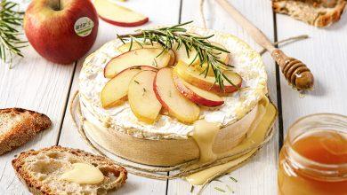 Photo de Brie rôti aux pommes Antarès®, miel & romarin