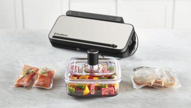 Photo de FoodSaver® présente sa nouvelle machine de mise sous vide multifonctions premium