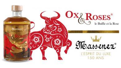 Photo de La Distillerie Massenez® présente Ox & Roses® sa nouvelle liqueur qui célèbre l'année du Buffle