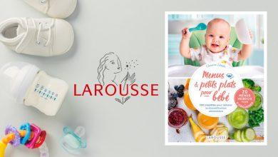 """Photo de """"Menus & petits plats pour bébé"""" Par Christine Zalejski aux Éditions Larousse"""