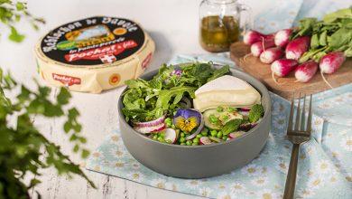 Photo de Salade printanière et Reblochon