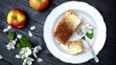Photo de Tiramisù croustillant aux pommes