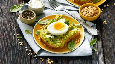 Photo de Toast avocat pesto et œuf coulant