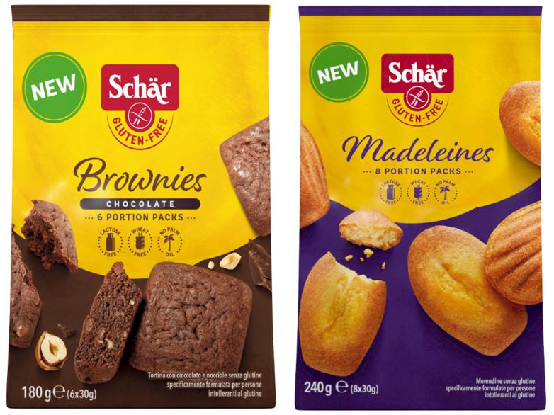 Madeleines Brownies Schär