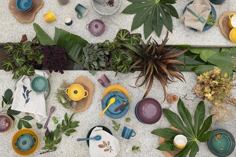 Le Creuset Nouvelle Collection Botanique Édition Limitée Ambiance 2